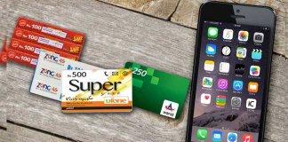 prepaid mobile card tax