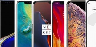 Top smartphones of 2019