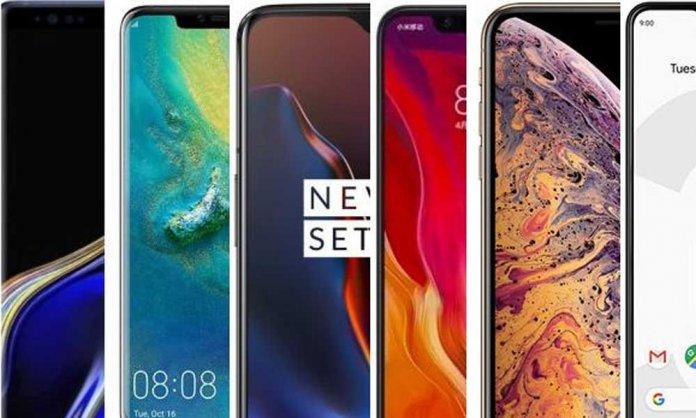 Top smartphones of 2019