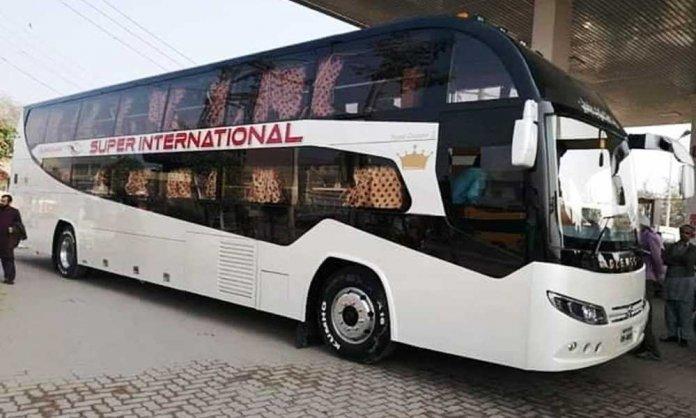 daewoo super international bus