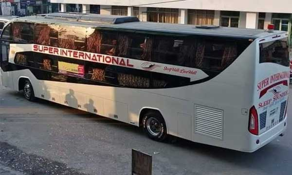 daewoo super international sleeper bus