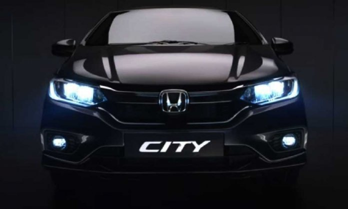 honda city facelift 2020