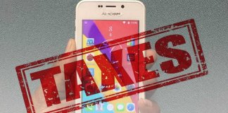 taxes on mobile phones