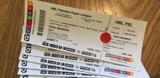 PSL 4 Tickets