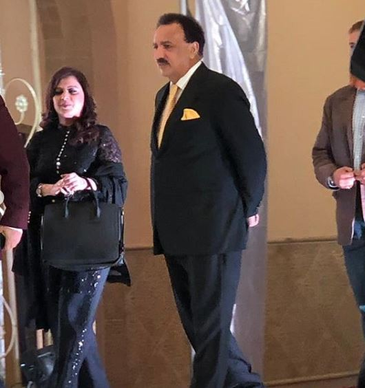 Reception Pictures of Hamid Mir's Son are Taking Over The Internet