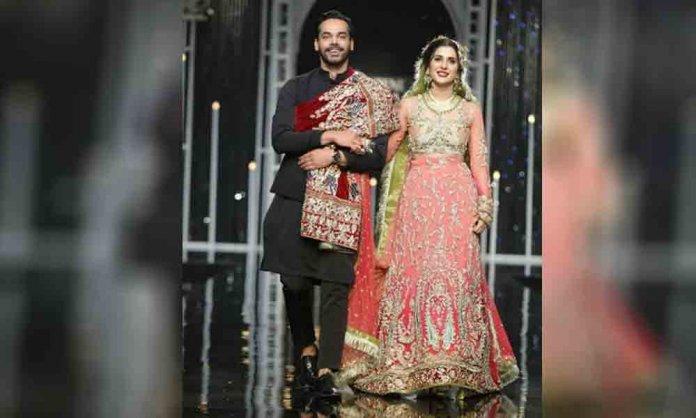 gohar rasheed and kubra khan laal