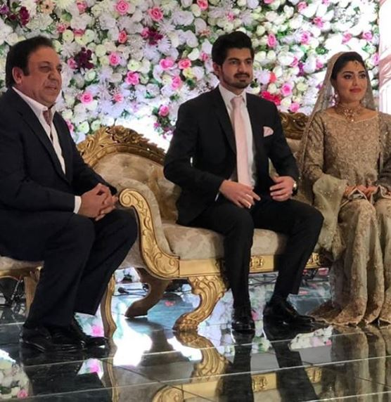 Reception Pictures of Hamid Mir's Son are Taking Over The