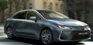 2020 Toyota Corolla Euro Hybrid