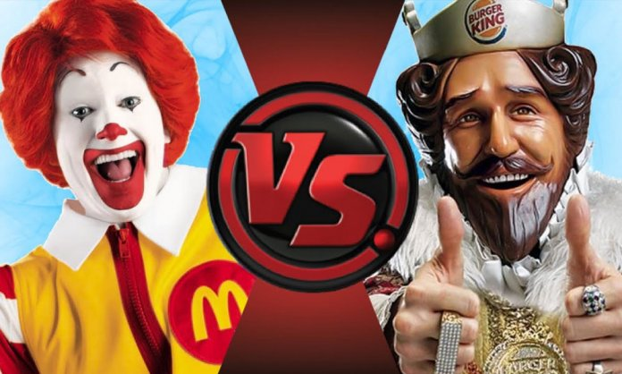 Burger King Trolls McDonalds