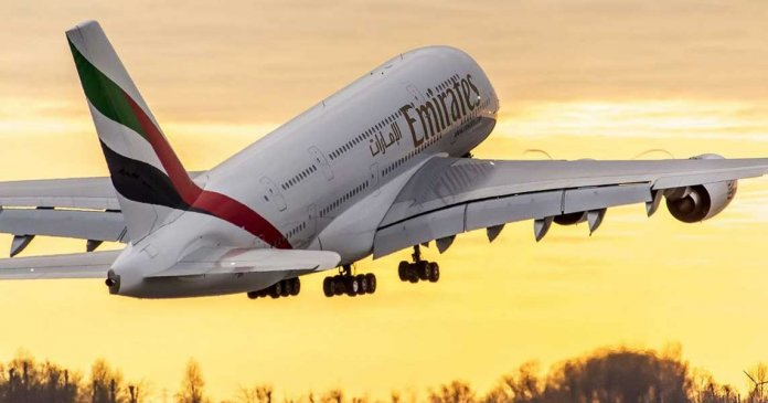 Emirates Airbus A380 Superjumbo