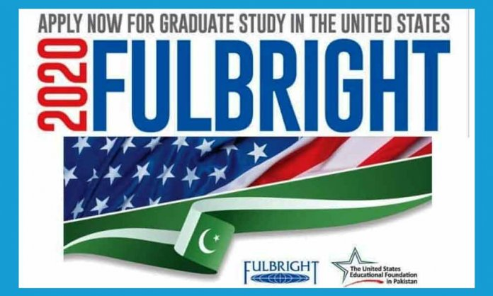 Fulbright Scholarship 2020 for Pakistani Students