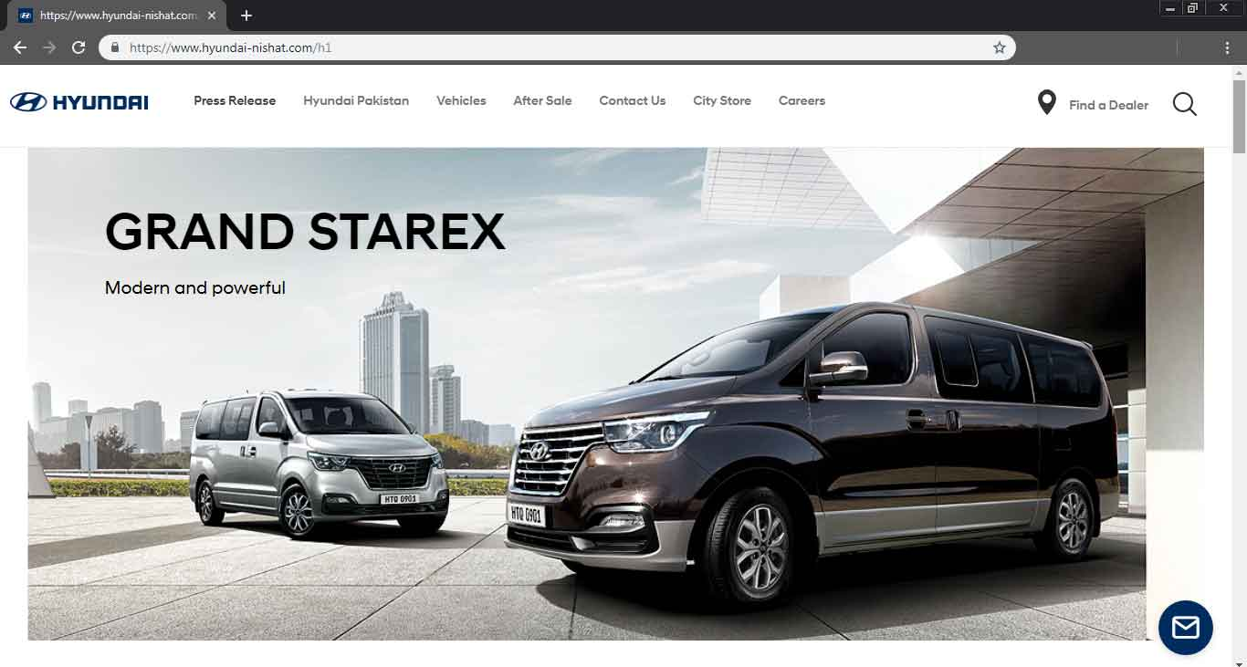 Hyundai Grand Starex Price In Pakistan Specifications