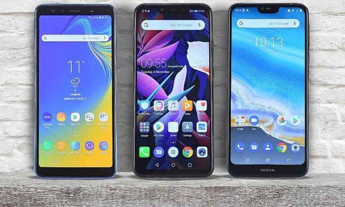 Samsung, Huawei & Nokia