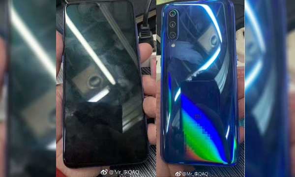 Xiaomi Mi 9 live images