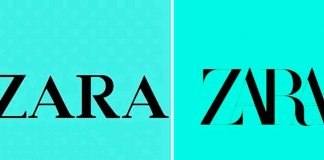 zara's new logo