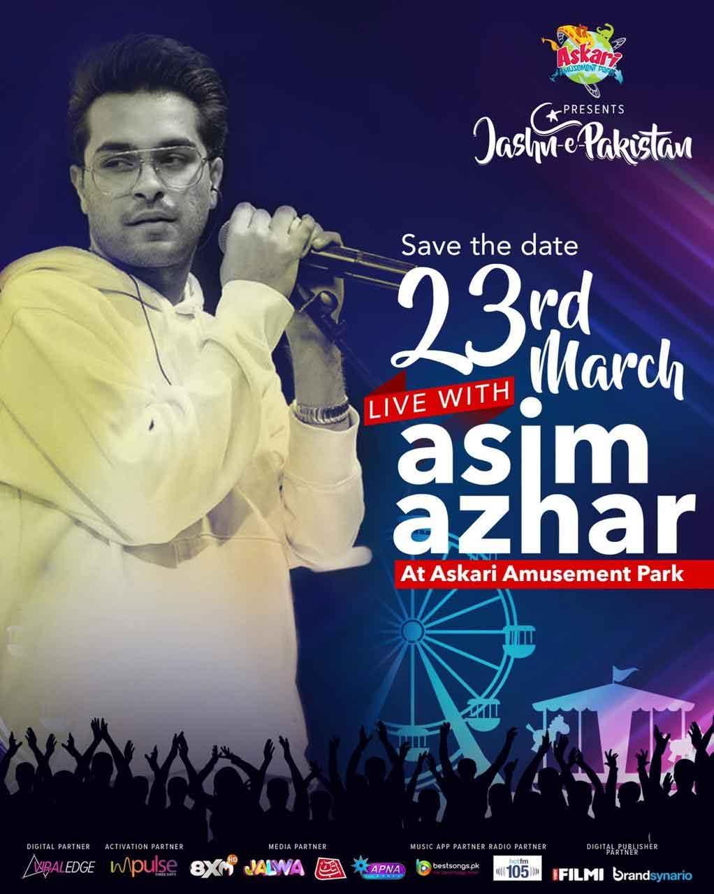 Asim Azhar Pakistan Day Concert