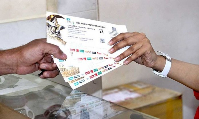 PSL Final Ticket
