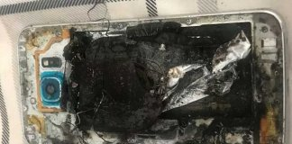 Samsung Galaxy S6 Explodes