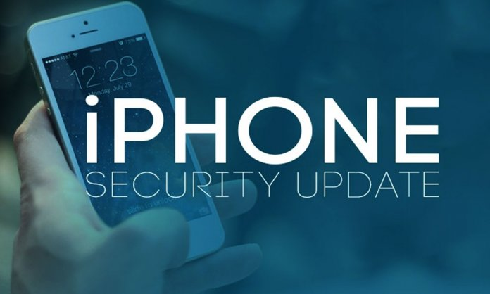 iPhone Security Update