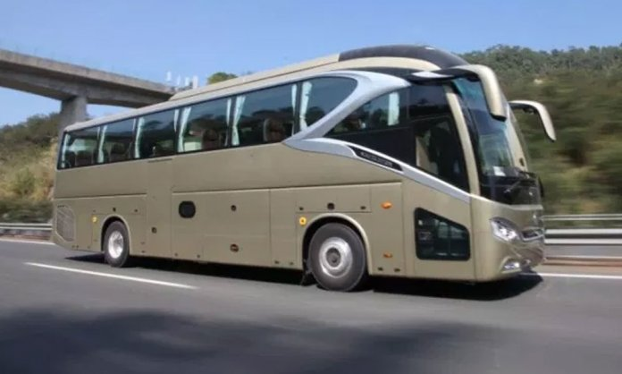 Chinese Busses in Pakistan