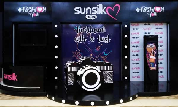 Sunsilk booth
