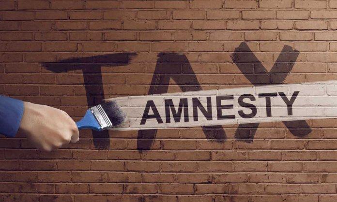 Tax Amnesty Scheme 2019