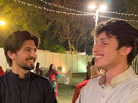 imran khan niece's wedding