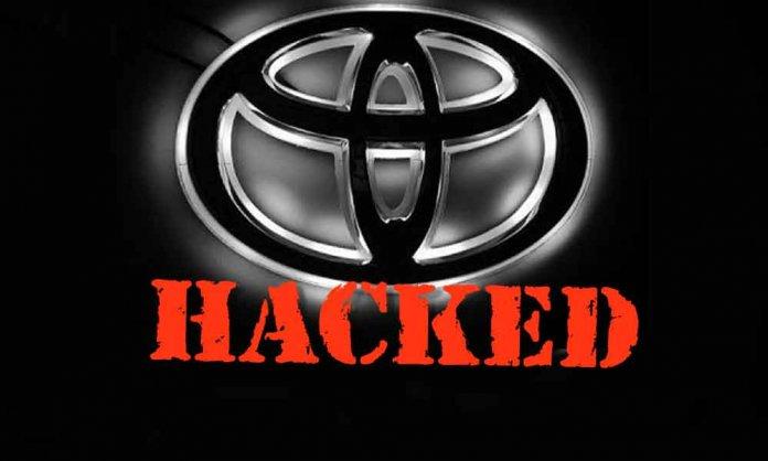 toyota hacked