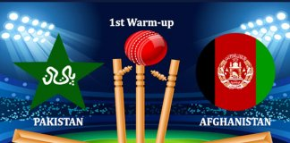 Pakistan vs Afghanistan warm up match