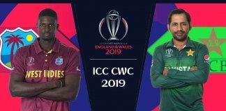Pakistan vs West Indies 2019