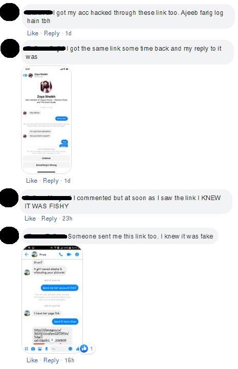 facebook job scam pakistan