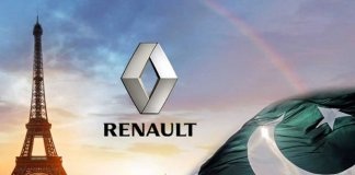 renault vehicles in pakistan