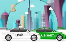 UBER and Careem fares