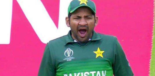 Sarfaraz Yawning