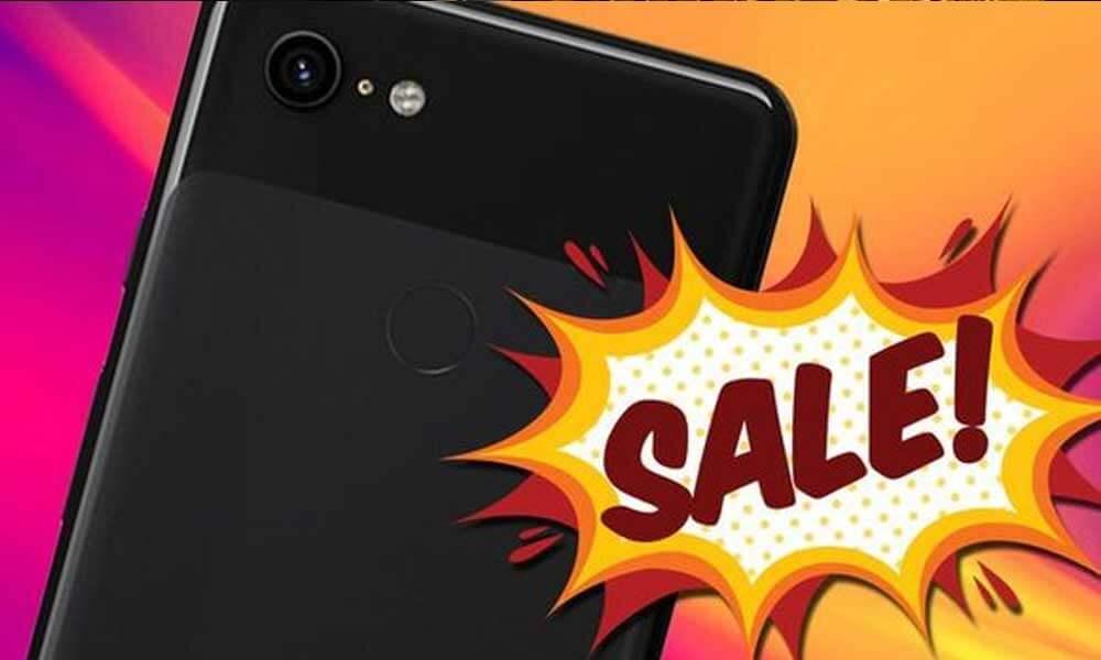 Google Offers 50% Off on Pixel 3 Smartphones via E-Mail