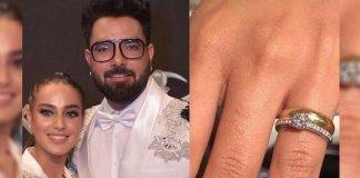 Iqra Aziz's Engagement Ring