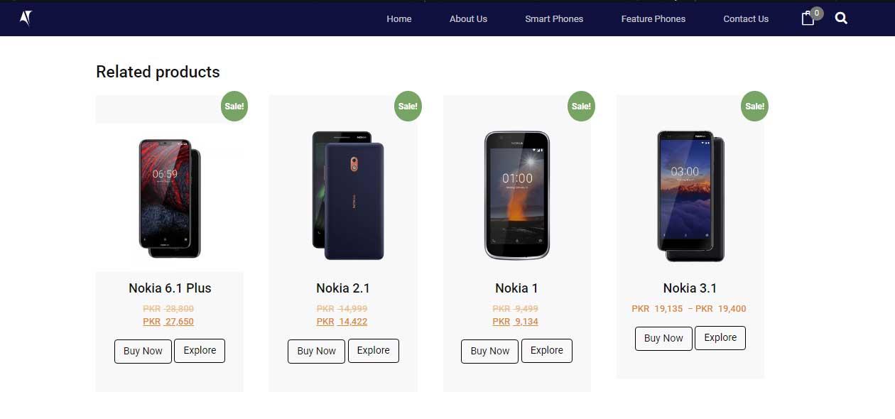 Nokia Pakistan Smartphone sale