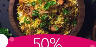 foodpanda biryani day