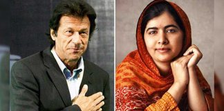 imran khan and malala