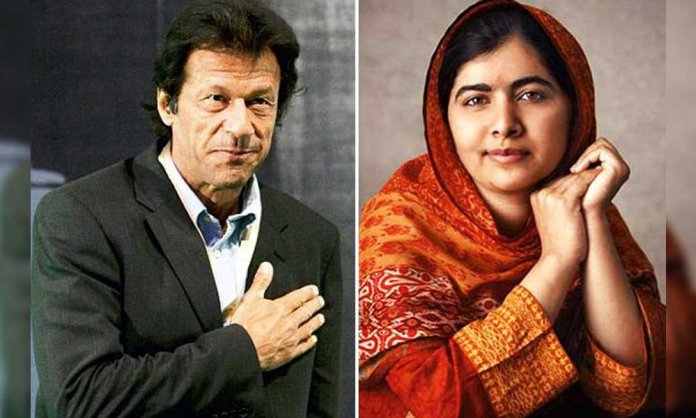 imran khan and malala
