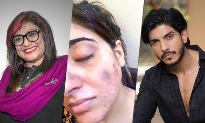 nighat dad warns mohsin abbas haider's wife