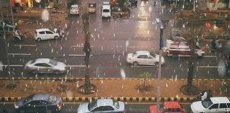 rainy weather in karachi