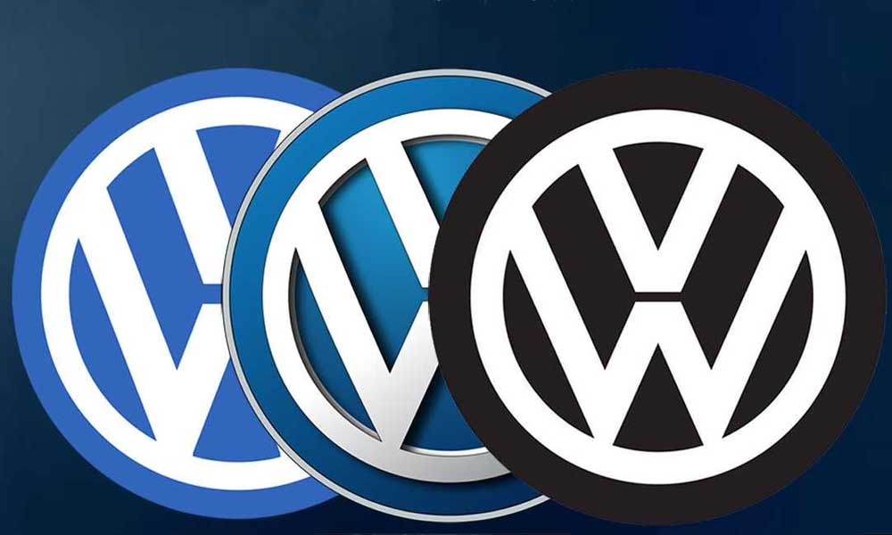 volkswagen re-brands its logo after 19 years