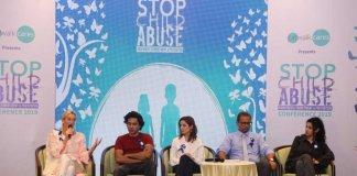 Stop Child Abuse Catwalk
