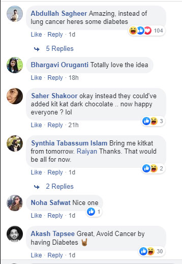comments on kit kat
