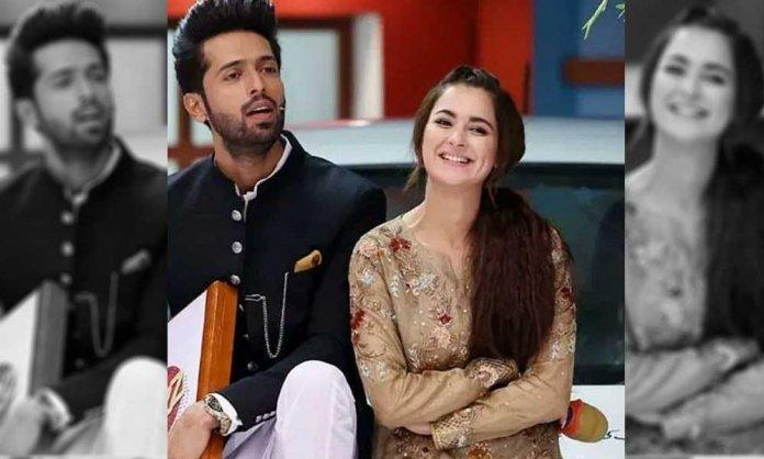 fahad mustafa and hania aamir