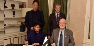 Imran Khan meets Bill Gates