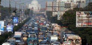 karachi traffic jam