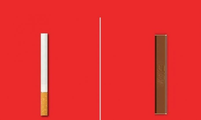 kit kat cigarette