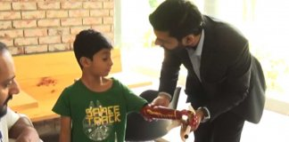 pakistani engineer robotic arm